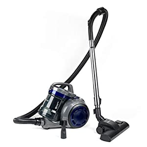 Beldray® BEL0960 Lightweight Cyclonic Cylinder Vac | 800 W | 3.4 kg | 2 Litre Bagless Dust Container | Includes 2 in 1 Crevice and Brush Tool