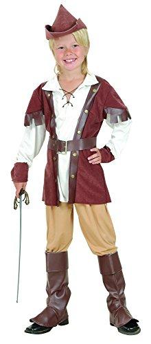 Bristol Novelty CC695 Traje de Robin Hood Deluxe (Pequeño), Edad aprox 3 -5 años