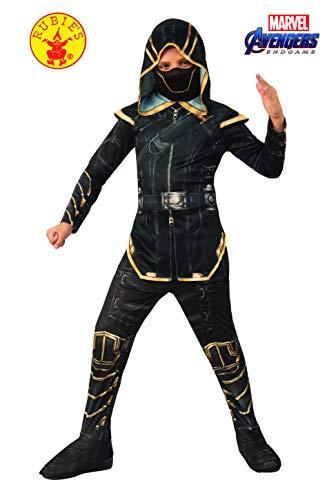 Rubie's, Costume Ufficiale Avengers Endgame Hawkeye As Ronan, per Bambini, Taglia L, età 8-10, Altezza 147 cm