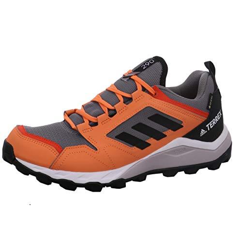 adidas Damen Terrex Agravic Tr GTX W Leichtathletik-Schuh, Grau DREI F17 / Kern Schwarz/Bernstein, 42 EU