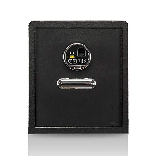 Caja de Seguridad Digital Caja de Seguridad de Huella Digital Caja Fuerte Portada Documento de Bloqueo electrónico Sólido empresarial Acero Pequeño Dinero Alta Seguridad