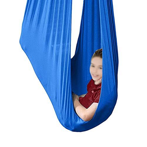 Columpio sensorial Columpios de interior para adultos Terapia de la hamaca de yoga ajustable para adultos Niños con necesidades especiales Cinturones de entrenamiento Pilates Anti-Gravity Flexibilidad