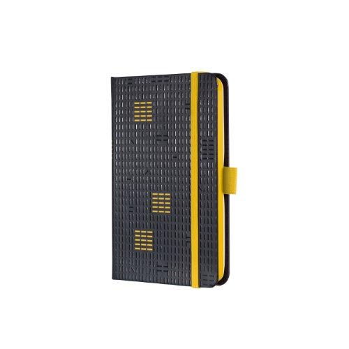 Sigel C1542 Wochenkalender 2015, Design Code, ca. A6, Hardcover, schwarz-gelb, CONCEPTUM