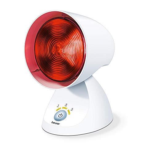 Beurer IL 35 - Lampada a Raggi Infrarossi per Terapia del Calore Efficace in Caso di Contratture e Malanni di Stagione