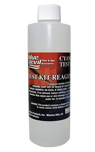 Blue Devil B7118 Cyanuric Acid Test, 8 oz Bottle