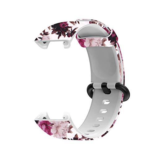 Pulseira de silicone esportiva pulseira para Redmi MI Watch Lite Acessórios de substituição de relógio inteligente ajustável pulseira de relógio pulseira colorida