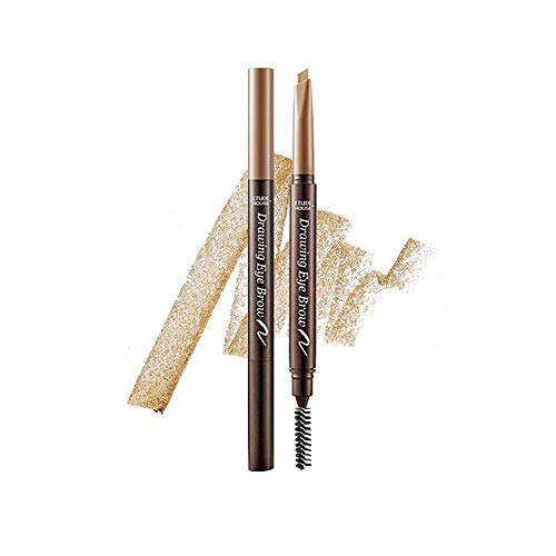 ETUDE HOUSE Drawing Eye Brow 0.25g #5 Grey | Long Lasting Eyebrow Pencil | Soft Textured Natural Daily Look Eyebrow Makeup