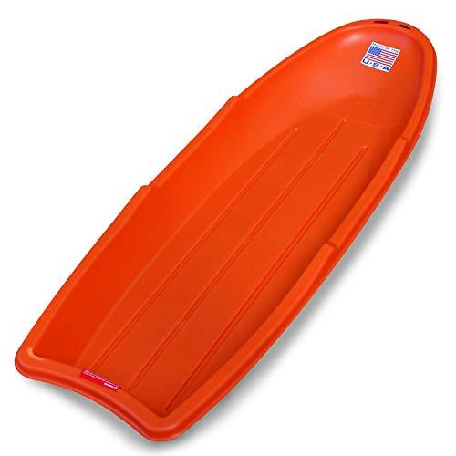 "Flexible Flyer Lightning Snow Sleds for Kids & Adults. Plastic Toboggan Sand Slider 48"" 1-Pack"