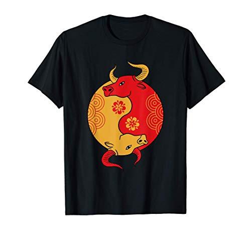 Chinesisches Neujahr 2021 - Jahr des Ochsen T-Shirt