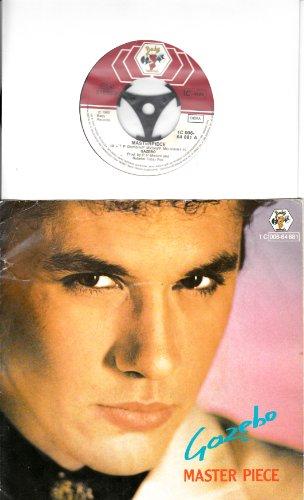 GAZEBO / MASTER PIECE / 1982 / Bildhülle / Baby records # 1C 006-64 881 / 7' Vinyl Single Schallplatte