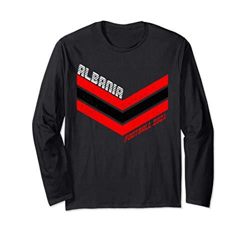 Albanien Fußballtrikot 2021 Retro albanisch Fußball Langarmshirt