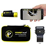 Ferret Plus – Multipurpose Wireless Inspection Camera & Cable Pulling Tool (CF-300 Bundle Includes a Jonard Tools Cell Phone Wristband) - 2021 Newest Version