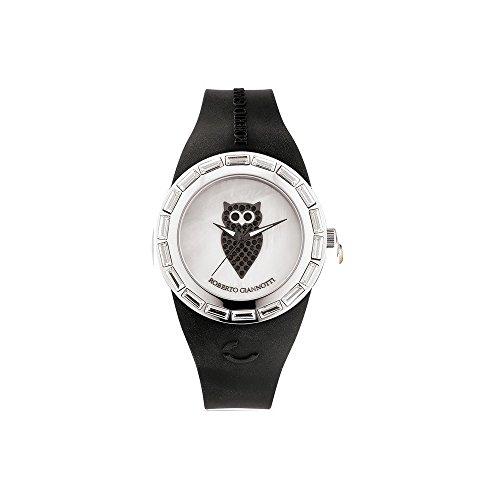 Orologio da polso donna ROBERTO GIANNOTTI OMN101 con cinturino in silicone nero