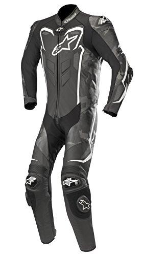 Alpinestars GP Plus Camo - Mono de piel (1 pieza), color negro...