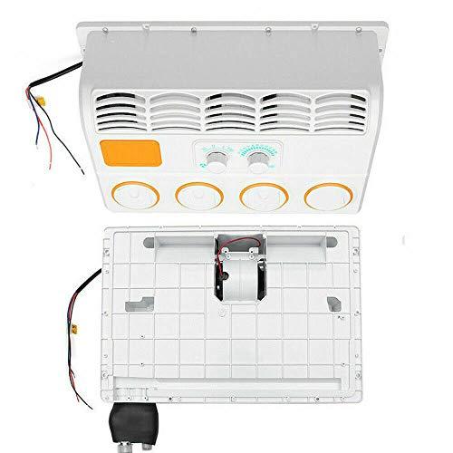 Condizionatore d'aria in ABS, montaggio a parete, per roulotte, climatizzatore universale, 24 V, per auto/camion
