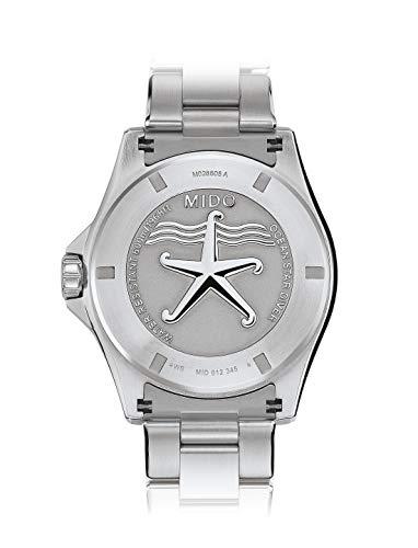 [ミドー]腕時計オーシャンスター60気圧防水クロノメーターM0266081104100メンズ正規輸入品シルバー