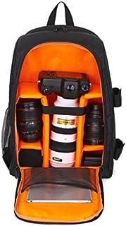 SIZOO - Camera/Video Bags - Waterproof Digital DSLR Photo Padded Backpack with Rain Cover Bag Case for Fuji (Orange)