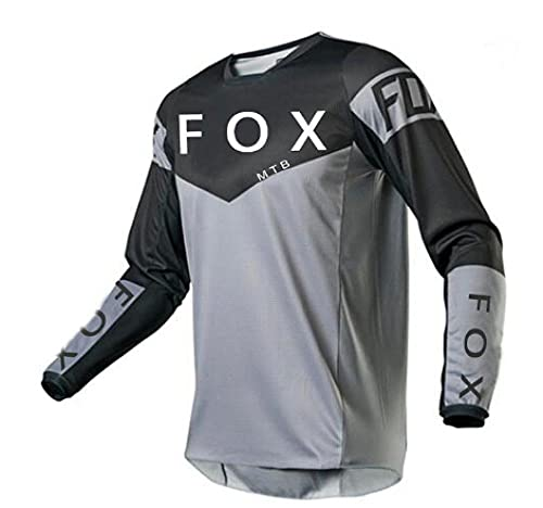 2021 Men's Motocross Jersey Camiseta MTB Enduro Long Sleeve Cycling Jersey Foxmtb Downhill Shirt Fxr Mx Dh Road Bicycle Tops Man-XL
