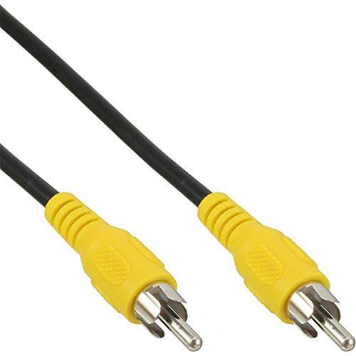 InLine 89937E cable de vídeo compuesto 7 m RCA Negro - Cables de vídeo compuesto (7 m, RCA, RCA, Negro, Níquel, Macho/Macho)