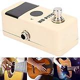 Bnineteenteam Mini afinador de Tono de Pedal para afinación de Guitarra, cromática, bajo, violín, Viola y Ukelele