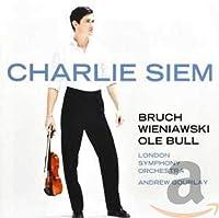 Charlie Siem Plays Violin Works