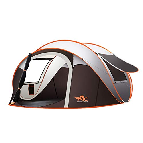 NGDDGS Outdoor Large Camping Tent Full-Automatic Instant Unfold WaterProof Tent Family Multi-Functional Portable Dampproof Tent (Color : L)