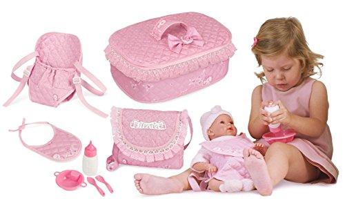 Decuevas Toys - Set accesorios Martina portabebés bolsito