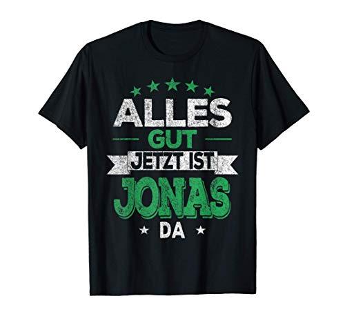 Jonas Name Lustiger Spruch Vintage Geburtstag Geschenkidee T-Shirt