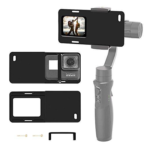 Hohem Gopro Gimbal Adapter Montageplatte Handheld Kamera Stabilisator Adapter für Gopro Hero 7 6 5 4 3 DJI OSMO Mobile 2 Zhiyun Smooth 4 Q Feiyutech