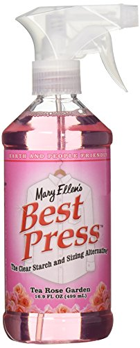 Mary Ellen's Best Press Clear Starch Alternative 16.9 Ounces-Tea Rose Garden