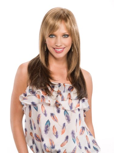 Tony of Beverly Womens Synthetic Lace Front Wig ''Bennett''-1B: Off Black