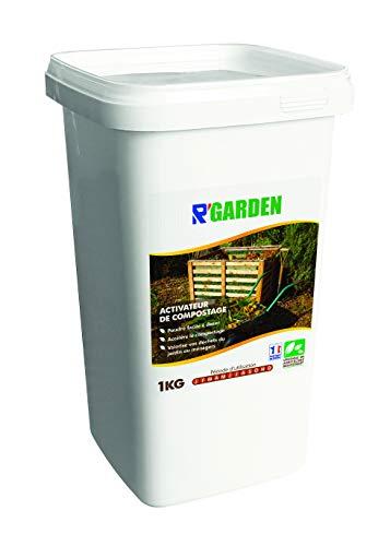 R'Garden | Engrais Organique Activateur de Compost | Engrais Ecologique | Fertilisant Naturel | Nourrit en Profondeur | Facile d'Utilisation | 1KG