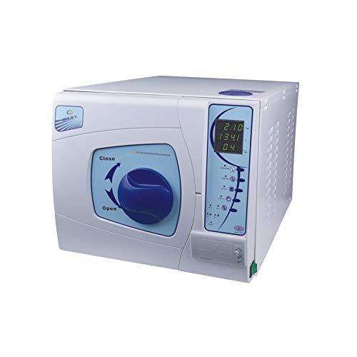 SUN Autoklav Vakuum Dampf Sterilisator Blau Dental Autoklav Sterilisator mit Drucker Klasse B von Supershu (23L)