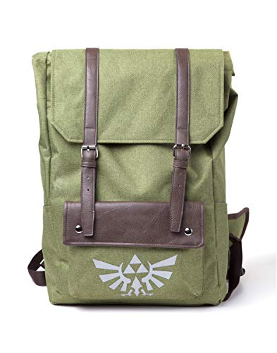 Difuzed The Legend of Zelda Link mit Kapuze Rucksack grün