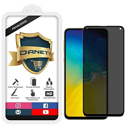 Película De Privacidade Vidro Temperado Para Samsung Galaxy S10e Tela 5.8 Polegadas Proteção Anti Impacto E Curioso Top Spy Premium 3d- Danet
