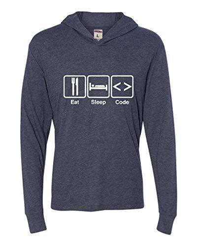 Thread Science Binary Funny Computer Programmer Math Adult Unisex Mens T-Shirt Black