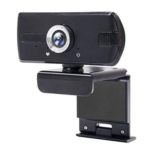 SSCYHT 1080P HD Webcam con Micrófono, Alta Definición, USB Plug and Play, Web Camera para Ordenador, PC, Etc