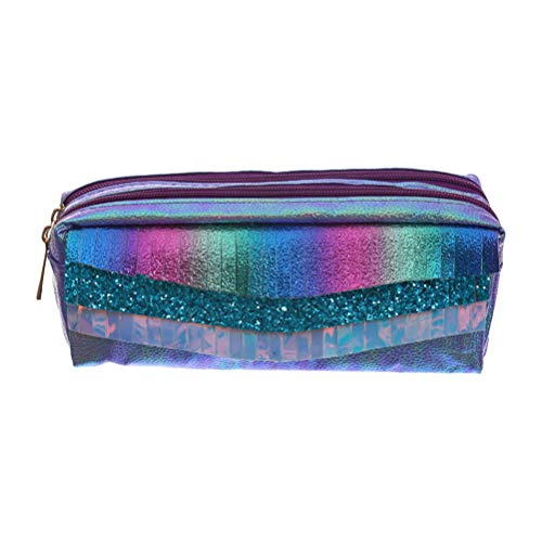 WINBST Fashion Holografische Bleistift Tasche Kosmetik Make-up Tasche Aufbewahrungstasche Hologramm Geldbörse Frauen Transparente Tasche Kleine Tote Handtasche