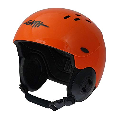 Gath Gedi Helmet with Peak - Orange - L