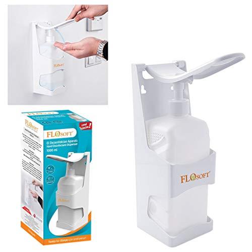 Flosoft F295 Dispensador Manual para Gel higienizante o jabon 1000 ML