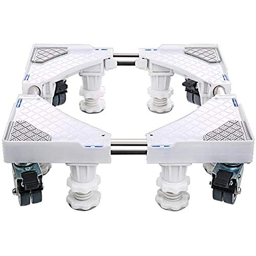 YEXINTMF Universal Mobile Base Washing Machine Trolley Roller Wheels Base Brake Castors Fridges Freezer Tumble Dryers Disinfection cabinet