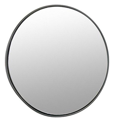 Cablematic sq93–Specchio convesso di segnalazione sicurezza sorveglianza 60cm interni, colore: nero