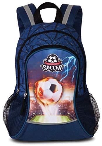 Fabrizio Soccer Football Kinder Rucksack Marine Blau 20599-0600