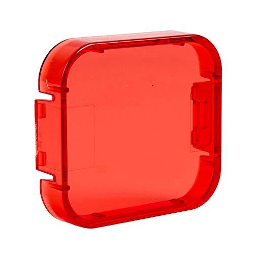 oobest 6 Kleuren Filters voor GoPro Hero 5 Onderwater Video Filmen Duiken Waterdichte Kleur Correctie Filter, Rood