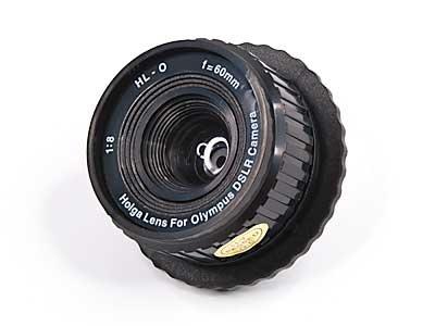 Holga HL-O Objektiv für Olympus DSLR Kamera