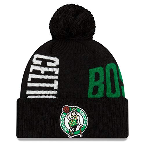 New Era Bobble Beanie - NBA TIP OFF Boston Celtics