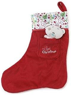 My 1st Christmas Tiny Tatty Teddy Christmas Stocking, New First xmas Baby Gift