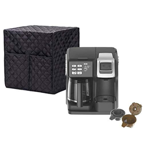 Schutzhülle für Kaffeemaschine, mit zwei großen Taschen