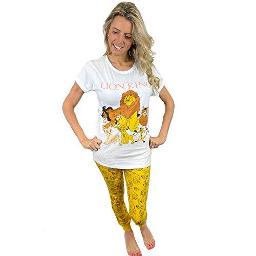Fashion by Purdashian Pijama de algodón para mujer, diseño de personajes de Disney/Marvel