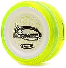Hornet Duncan Clear Yellow Green with White Cap Looping Yo Yo